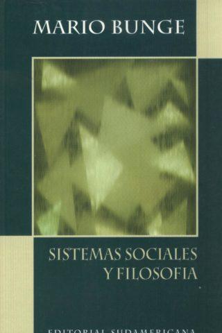 SISTEMAS SOCIALES Y FILOSOFIA
