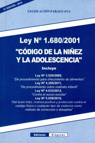 CODIGO DE LA NIÑEZ Y LA ADOLESCENCIA