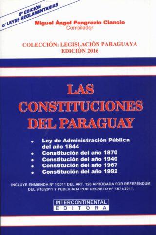 CONSTITUCIONES DEL PARAGUAY LAS