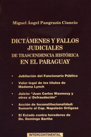 DICTAMENES Y FALLOS JUDICIALES