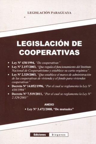 LEGISLACION DE COOPERATIVAS