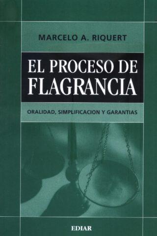PROCESO DE FLAGRANCIA EL
