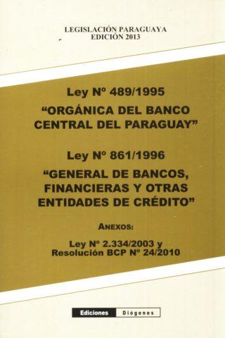 ORGANICA DEL BANCO CENTRAL DEL PARAGUAY