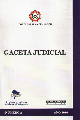 GACETA JUDICIAL 2010/2