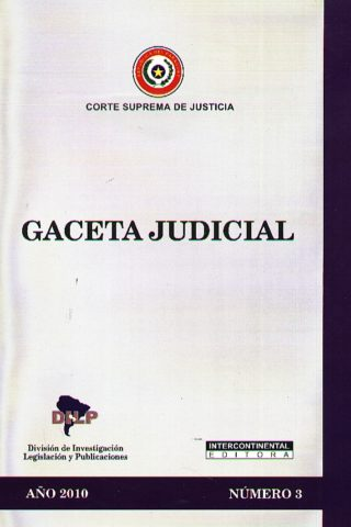 GACETA JUDICIAL 2010/3