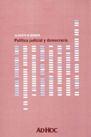 POLITICA JUDICIAL Y DEMOCRACIA