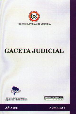 GACETA JUDICIAL 2011/4