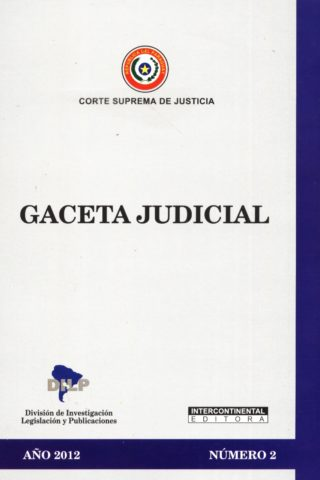 GACETA JUDICIAL 2012/2