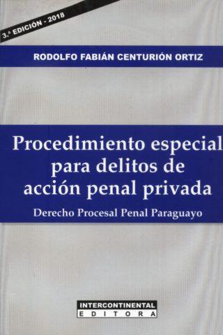 PROCEDIMIENTO ESPECIAL PARA DELITOS DE ACCION