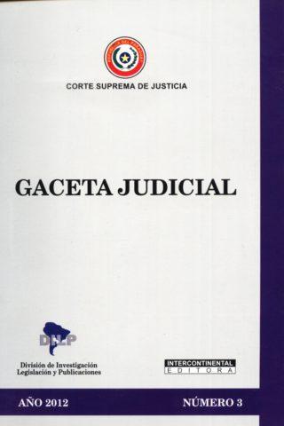 GACETA JUDICIAL 2012/3