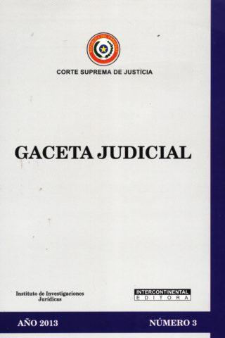 GACETA JUDICIAL 2013/3