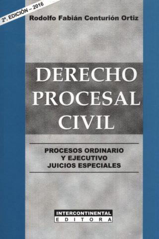 DERECHO PROCESAL CIVIL 2DA EDICION
