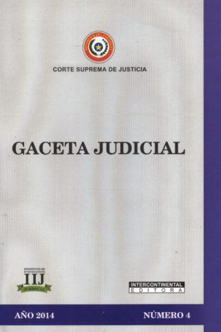 GACETA JUDICIAL 2014/4