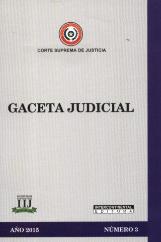 GACETA JUDICIAL 2015/3