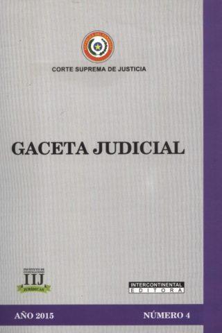 GACETA JUDICIAL 2015/4