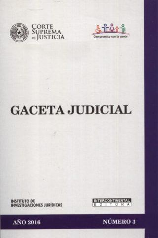 GACETA JUDICIAL 2016/3