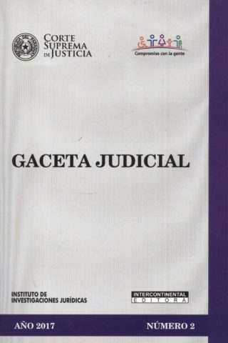 GACETA JUDICIAL 2017/2