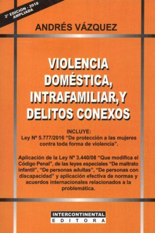 VIOLENCIA DOMESTICA INTRAFAMILIAR Y DELITOS C