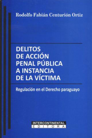 DELITOS DE ACCION PENAL PUBLICA A INSTANCIA D