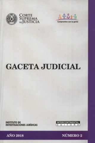 GACETA JUDICIAL 2018/2