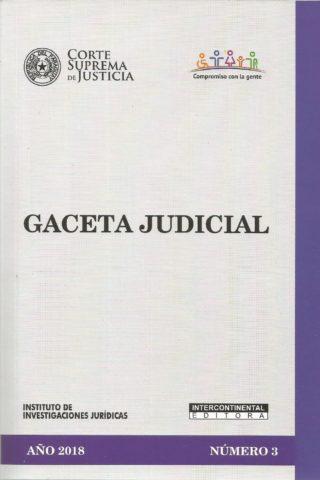 GACETA JUDICIAL 2018/3