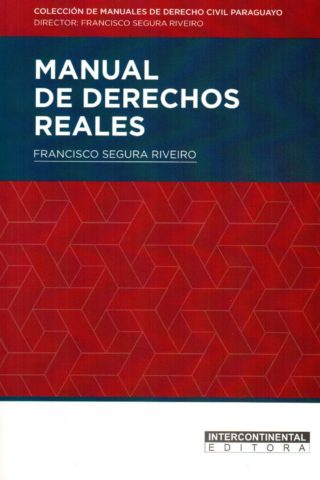 MANUAL DE DERECHOS REALES