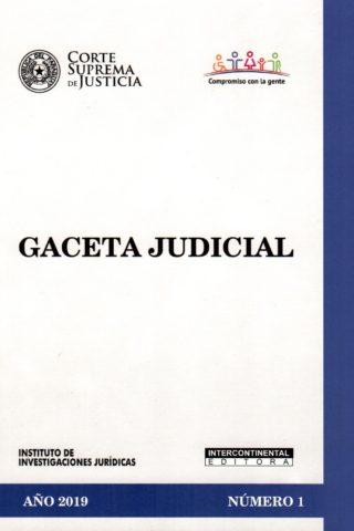 GACETA JUDICIAL 2019/1