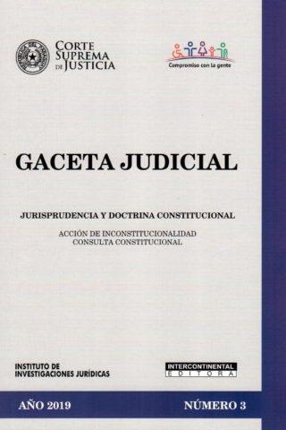 GACETA JUDICIAL 2019/3
