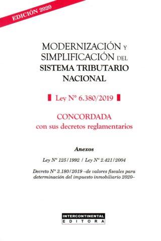 MODERNIZACION Y SIMPLIFICACION DEL SISTEMA TR