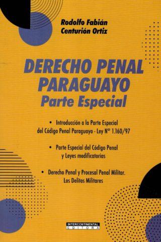 DERECHO PENAL PARAGUAYO PARTE ESPECIAL