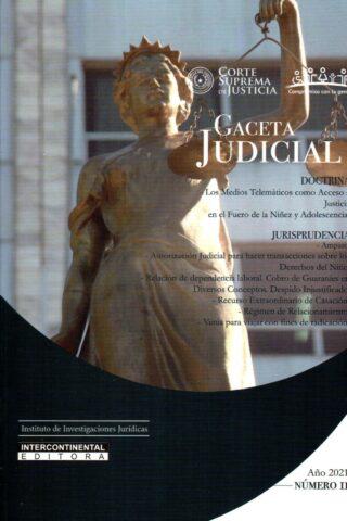 GACETA JUDICIAL 2021/2